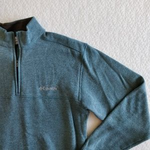 Men's Columbia 1/4 Zip Fleece Pullover